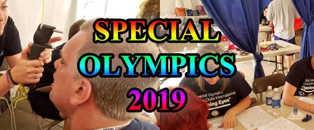 Special Olympics Opening Eyes – 2019